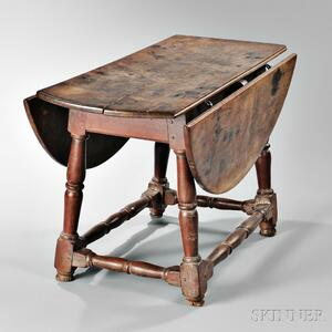 Rare Cherry Drop-leaf Table