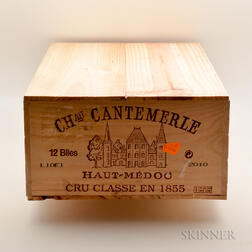 Chateau Cantemerle 2010, 12 bottles (owc)