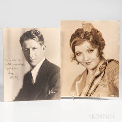 Vallee, Rudy (1901-1986) and Family Archive of Signed Photos and Artifacts.