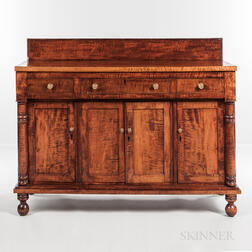 Tiger Maple Sideboard