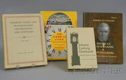 Four Titles on American Clockmaking