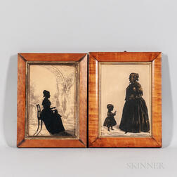Two Cutwork Silhouettes