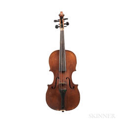 German Violin, Klingenthal, 19th Century