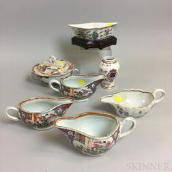 Seven Pieces of Chinese Export Porcelain