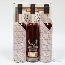 Buffalo Trace Antique Collection George T Stagg, 3 750ml bottles (oc)