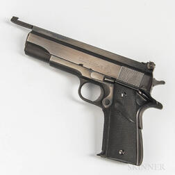 Colt Super .38 Semiautomatic Pistol Accurized by John Giles .45 Shop, Odessa, Florida