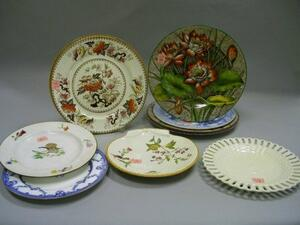 Ten Assorted Wedgwood Decorated Ceramic Plates.