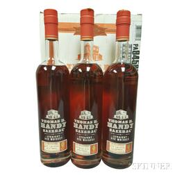 Buffalo Trace Antique Collection Thomas H Handy Sazerac Rye Vertical, 3 750ml bottles