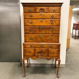Eldred Wheeler Queen Anne-style Maple High Chest