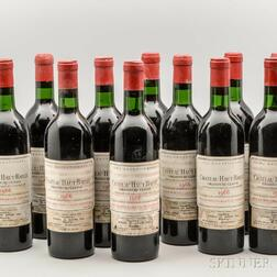Chateau Haut Bailly 1966, 11 bottles
