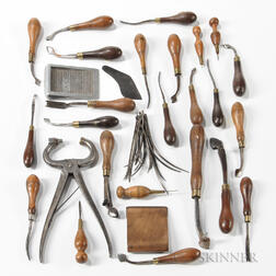 Group of Leatherworker's Tools