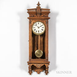 "Oak Waterbury ""Halifax"" Wall Clock"