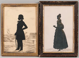 Two Full-length Silhouettes