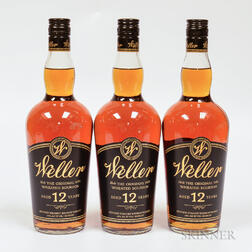 Weller 12 Years Old, 3 750ml bottles