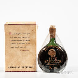 Dupeyron Fine Napoleon 50 Years Old, 1 bottle (oc)