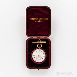 Vacheron & Constantin 18kt Gold Open-face Watch