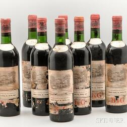 Chateau Lafite Rothschild 1966, 10 bottles