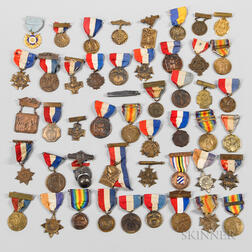 Group of WWI Victory and Veteran Medals