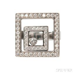 "18kt White Gold and Diamond ""Happy Spirit"" Ring, Chopard"