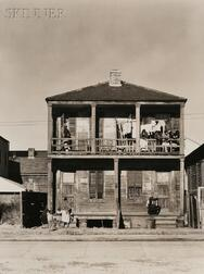 Walker Evans (American, 1903-1975)      Negro House, New Orleans, Louisiana