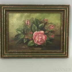 American School, 19th/20th Century    Spray of Roses