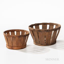 Two Shaker Berry Baskets