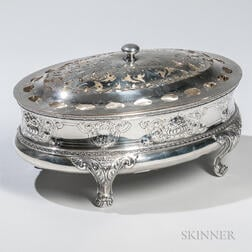 Barbour Silver Co. Sterling Silver Center Bowl