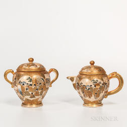 Satsuma Sugar and Creamer Set