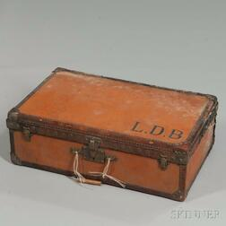 Louis Vuitton Orange Suitcase
