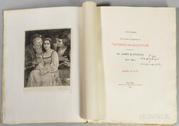 Stebbins, James H. (fl. circa 1880) Catalogue of the Private Collection of Paintings and Sculpture Belonging to Mr. James H. Stebbins,