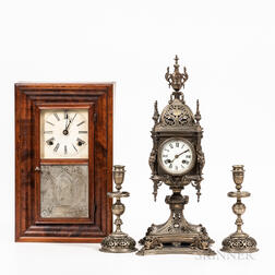 Two Shelf Clocks
