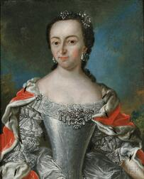 Flemish School, 17th/18th Century      Elegant Lady with Jewels and Ermine