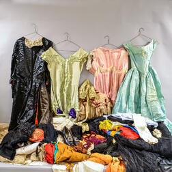 Large Group of Antique Clothing
