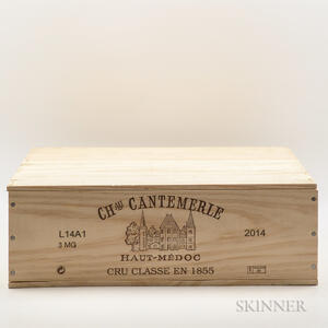 Chateau Cantemerle 2014, 3 magnums (owc)