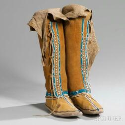 Comanche High-top Woman's Moccasins