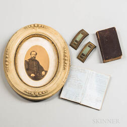 Group of Items Belonging to Captain Edwin Hadley, Company E, 26th Michigan Volunteer Infantry