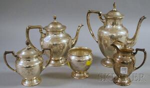 Fisher Five-piece Sterling Silver Coffee/Tea Service