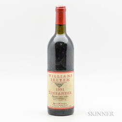William Selyem Zinfandel Russian River Valley 1991, 1 bottle