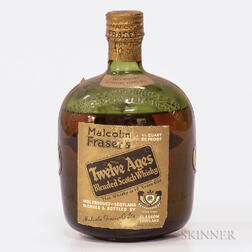 Malcolm Frasers 12 Years Old, 1 4/5 quart bottle