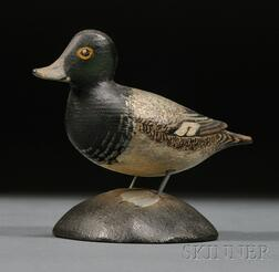 Miniature Greater Scaup Drake