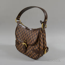Louis Vuitton Highbury Damier Leather Handbag