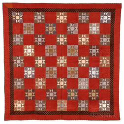 Pieced Cotton Quilt