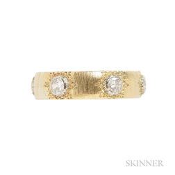 18kt Gold and Diamond Ring, Buccellati