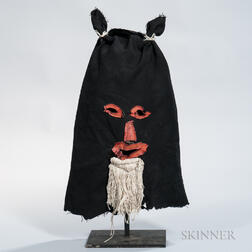 Folk Art Cloth Mask