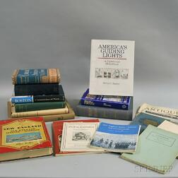 Approximately Seventy Books on the History of New England