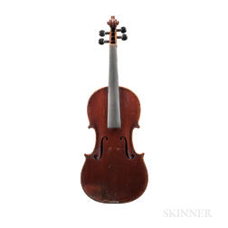 French Violin, Mirecourt, c. 1890