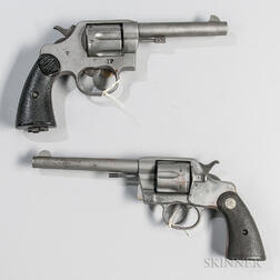 Two Colt Double-action Revolvers