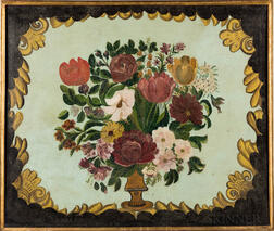 American School, 19th Century      Vase of Flowers