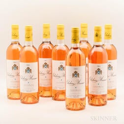 Chateau Musar Blanc 2001, 8 bottles