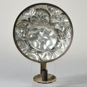 Tin Reflecting Sconce